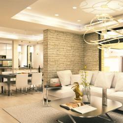 Architecture Design Practice Mykonos Street Indoor Residental Project