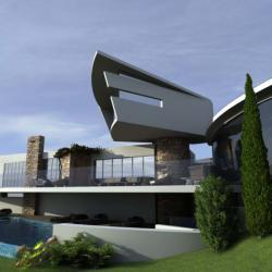 Architectural Dynamics Architectural Design For Pridate Resident In Pachna
