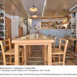 Black Beetle Design Meraki Restaurant Hospitality Interior Design Central View