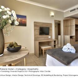 Black Beetle Design Qawra Palace Hotel Hospitality Interior And Furniture Design Desk Wardrobe