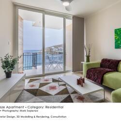 Black Beetle Design Seabreeze Apartment Residential Interior Design Living Room