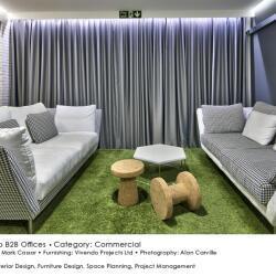 Black Beetle Design Vivendo B2b Offices Commercial Interior Design Lounge